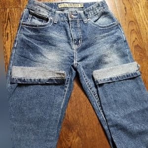 Sokool Denim regular straight light wash Jeans